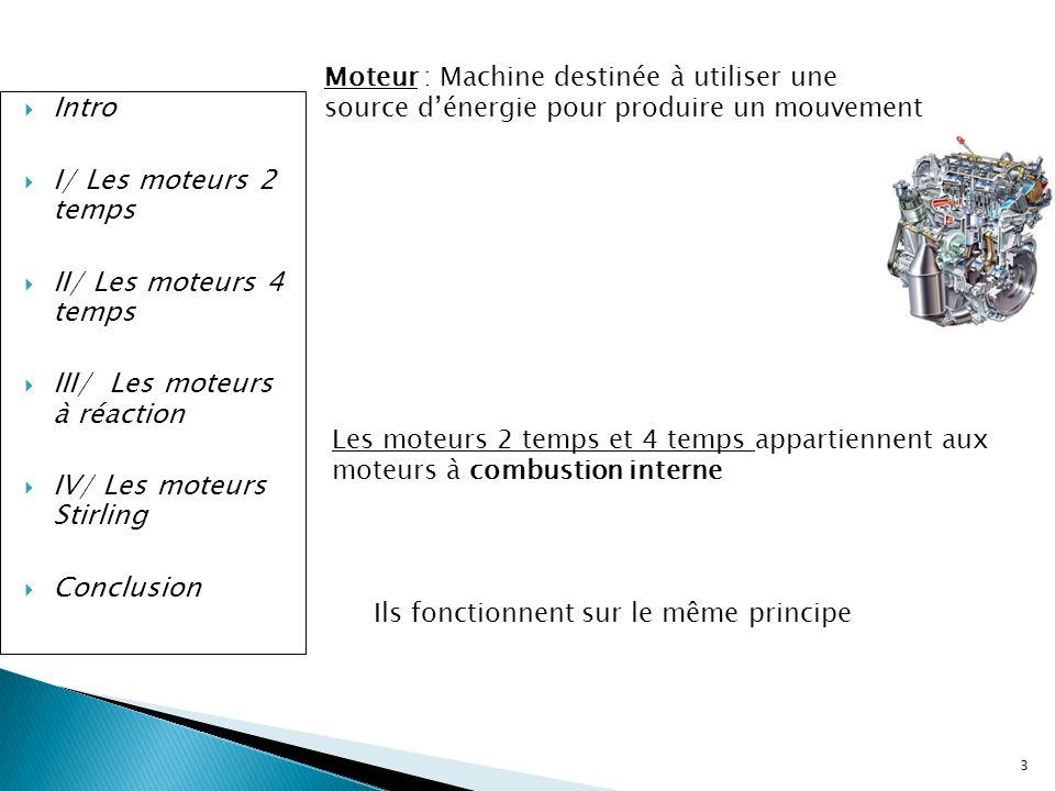 III/ Les moteurs à réaction