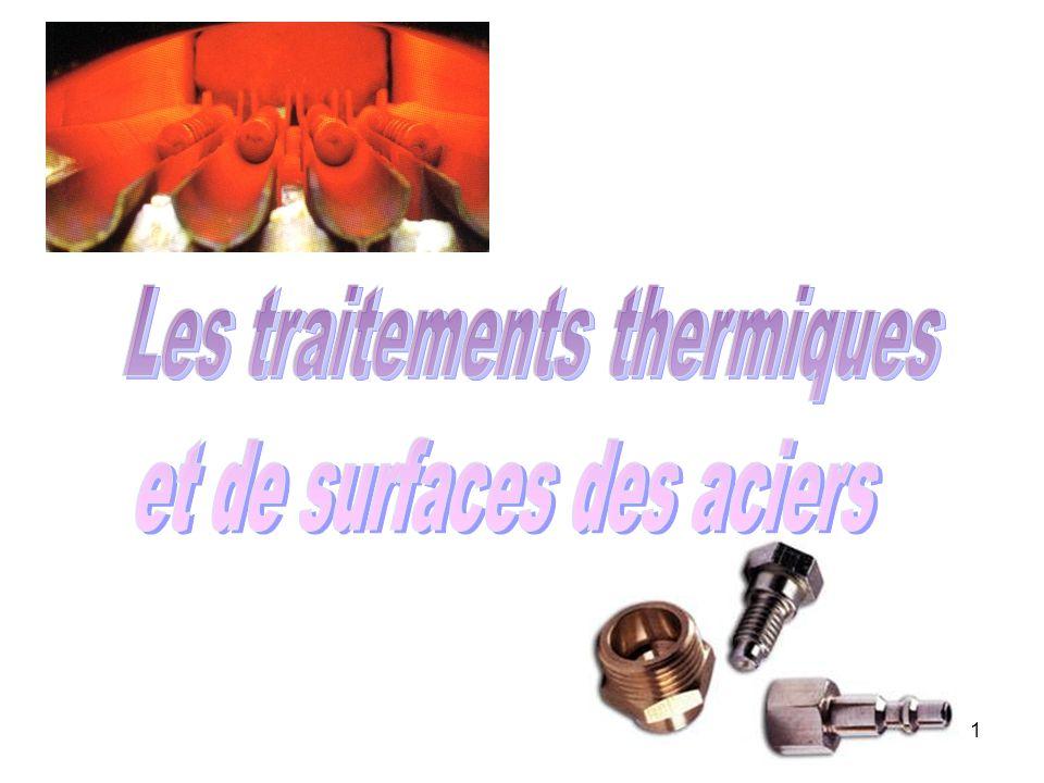 Les traitements thermiques et de surfaces des aciers