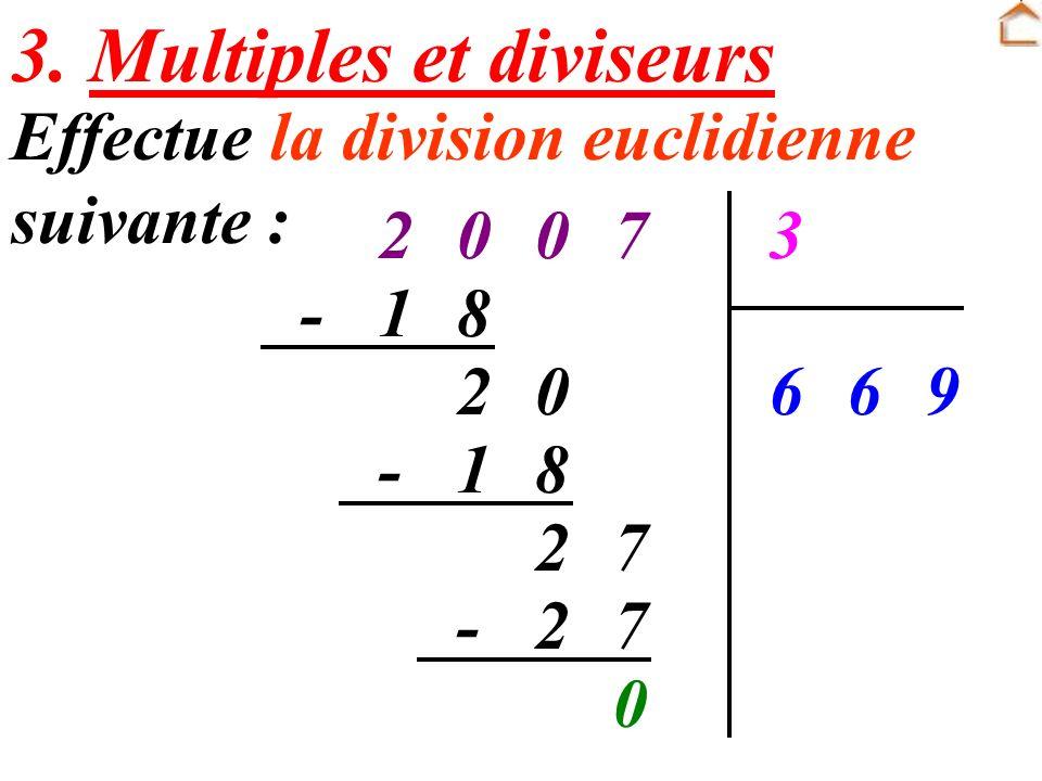 3. Multiples et diviseurs