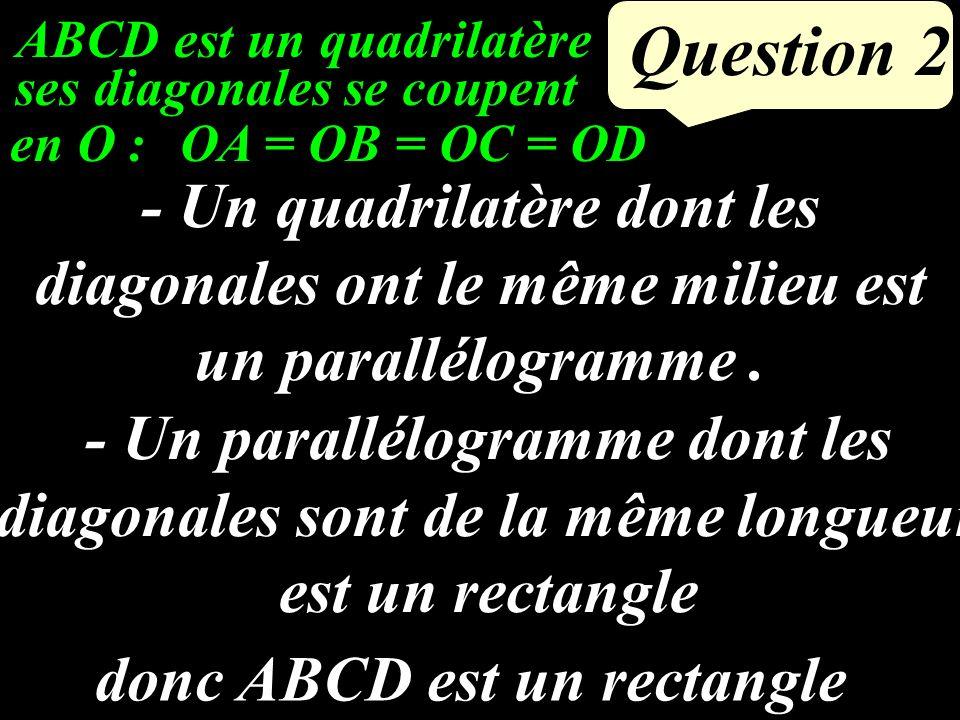 ABCD est un quadrilatère