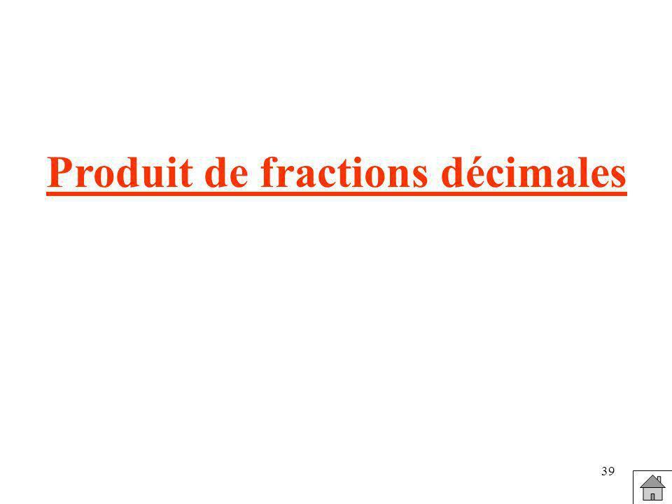 Produit de fractions décimales