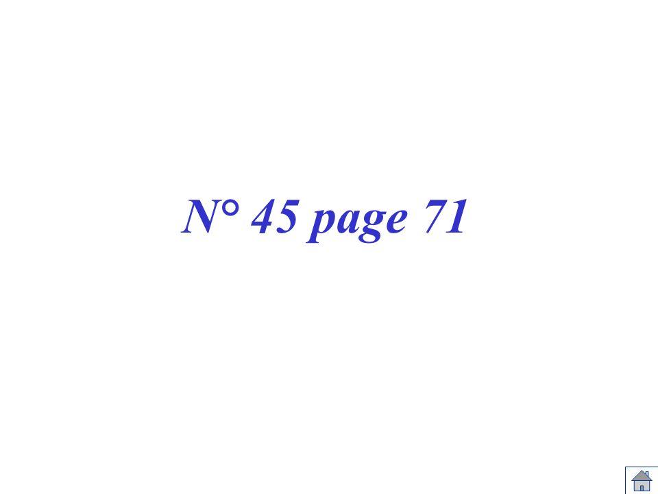 N° 45 page 71