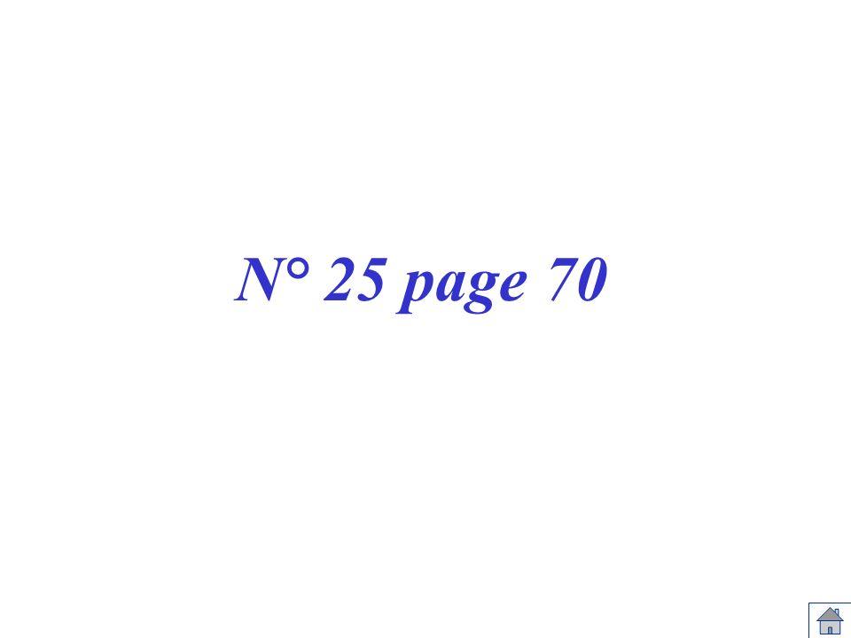 N° 25 page 70