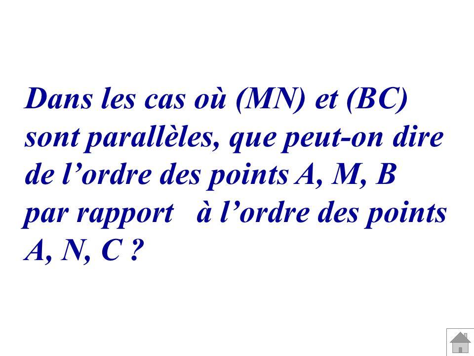 Dans les cas où (MN) et (BC)