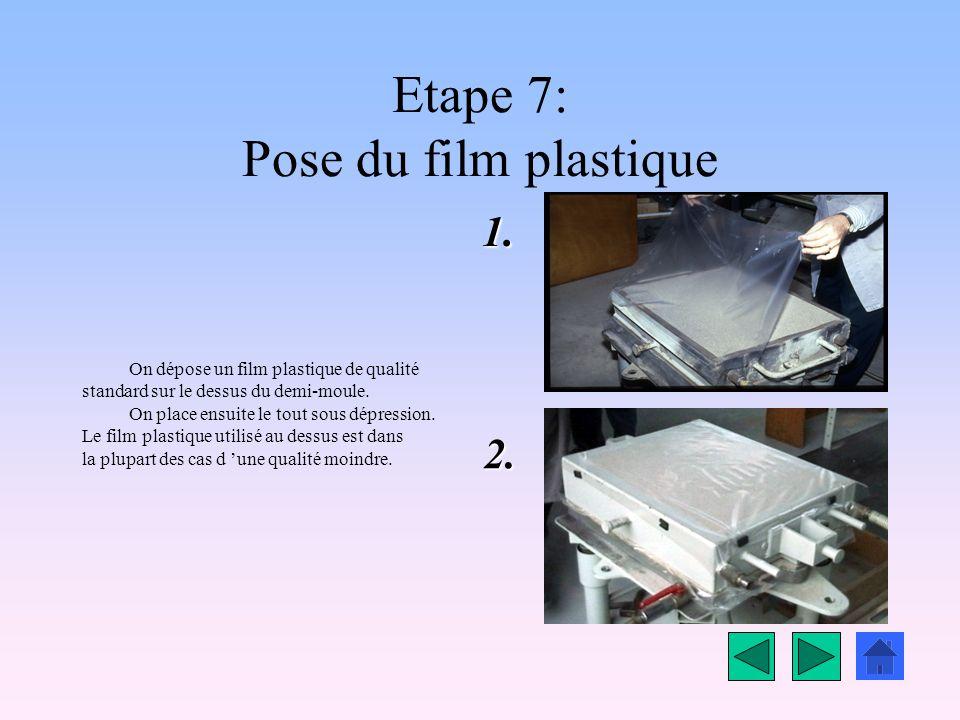 Etape 7: Pose du film plastique