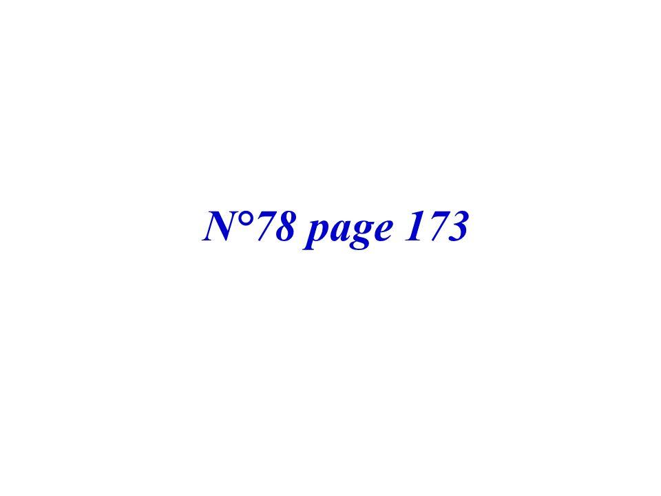 N°78 page 173