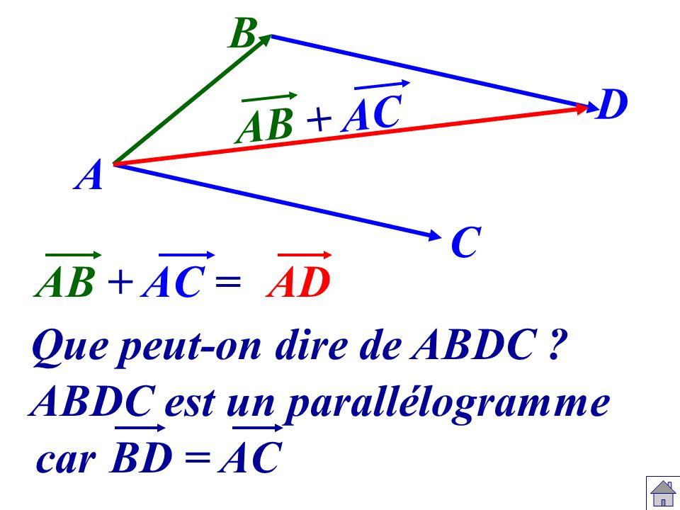 Que peut-on dire de ABDC