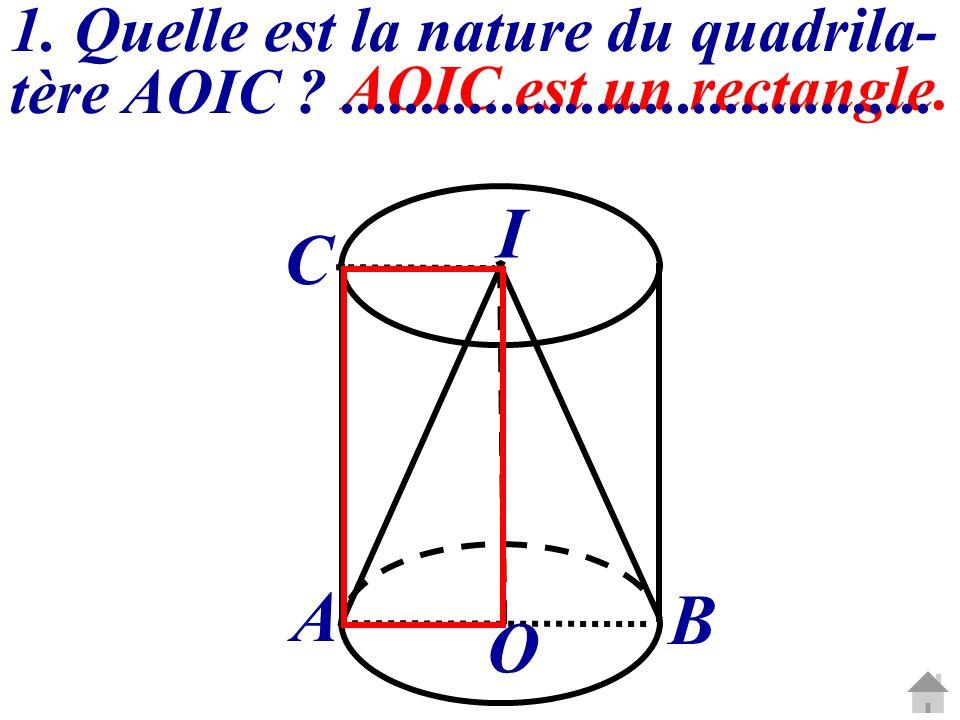 I C A B O 1. Quelle est la nature du quadrila-
