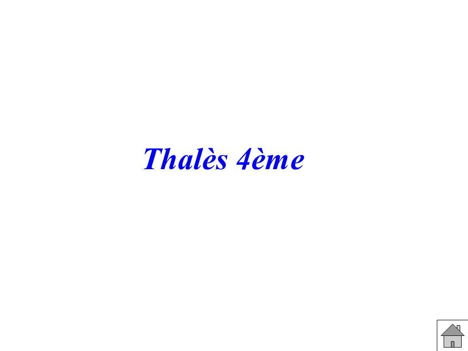 Thalès 4ème