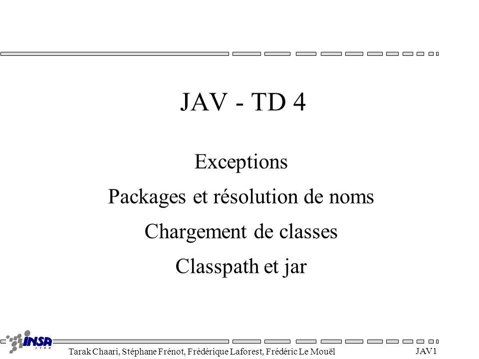 Packages et résolution de noms