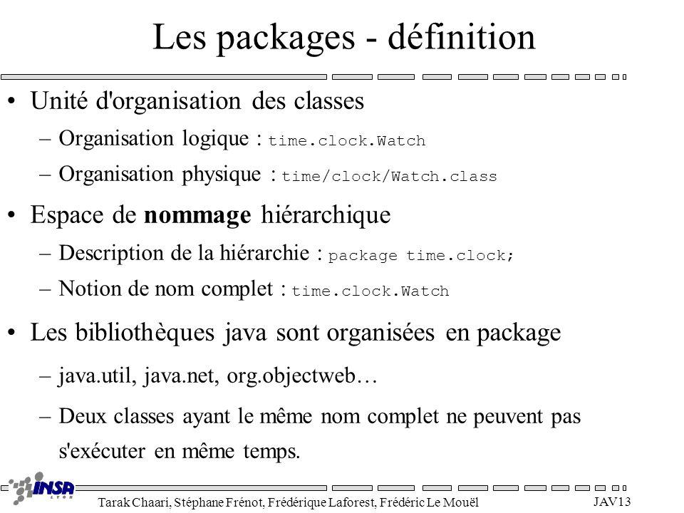 Les packages - définition