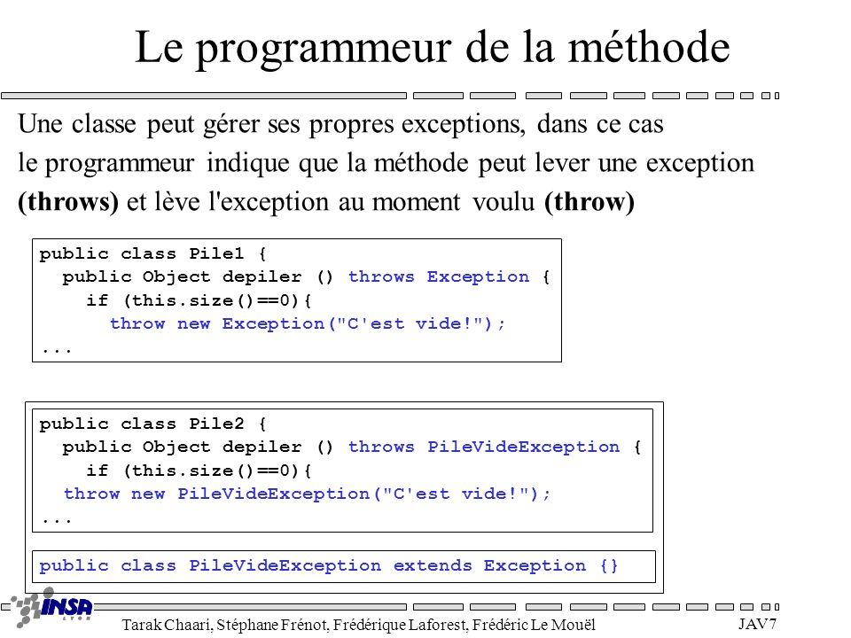 Le programmeur de la méthode