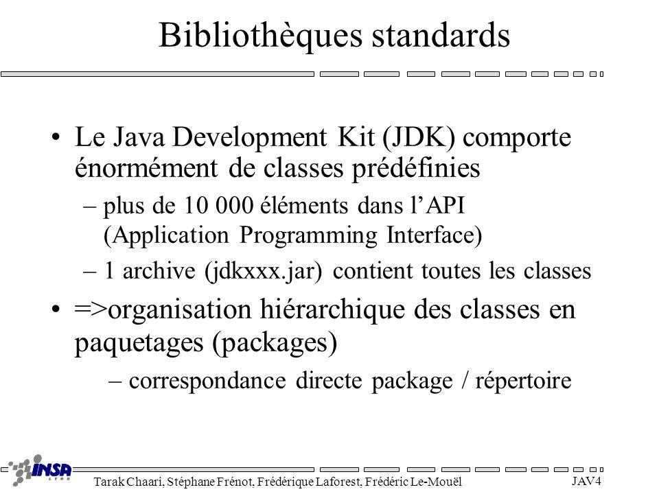 Bibliothèques standards