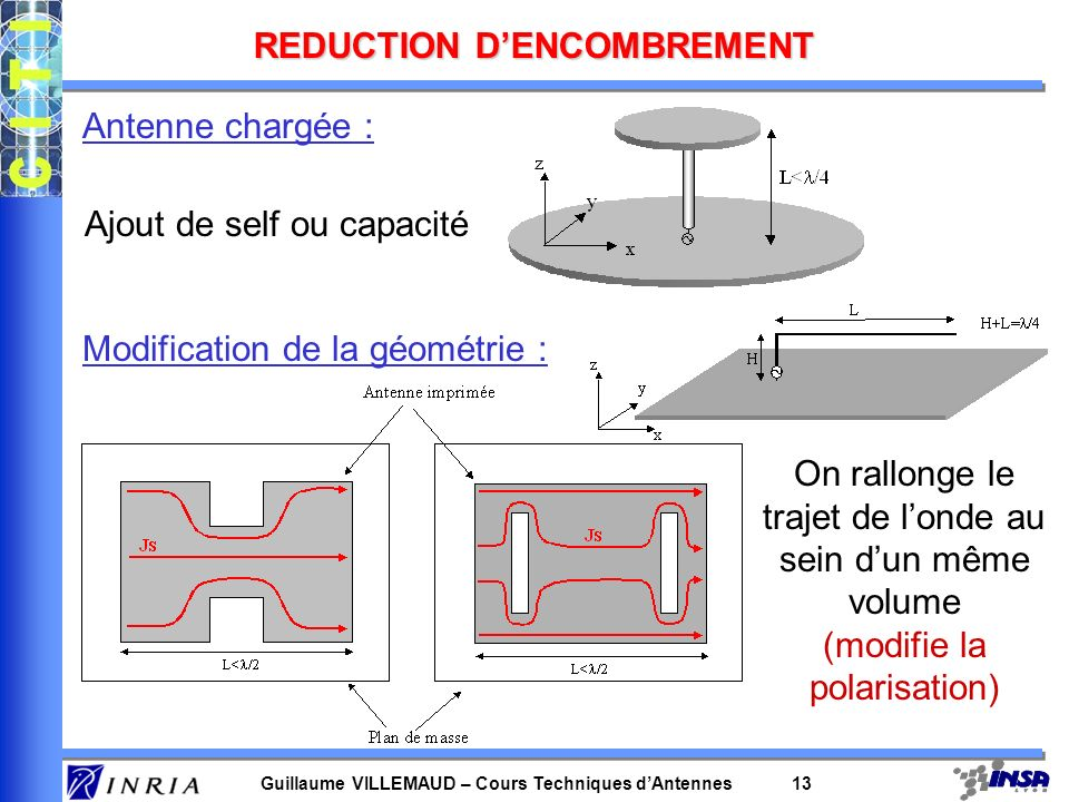 REDUCTION D'ENCOMBREMENT