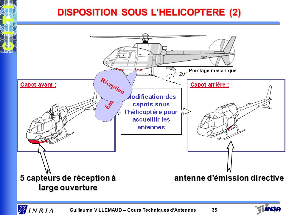 DISPOSITION SOUS L'HELICOPTERE (2)