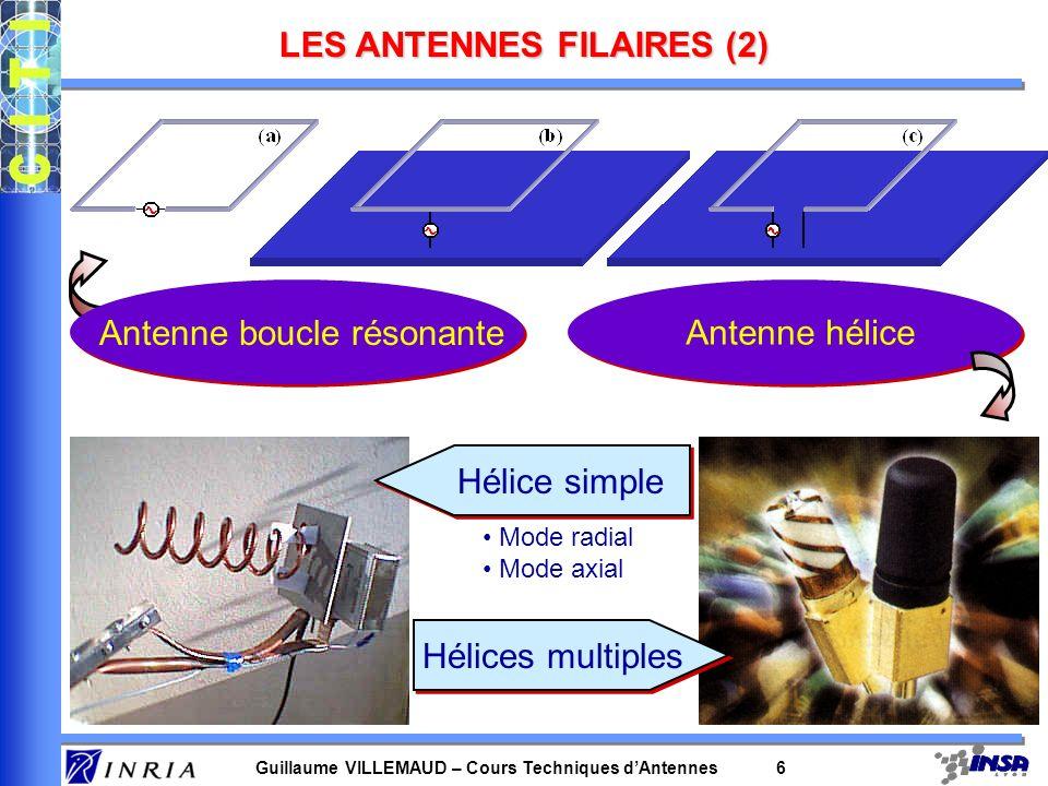 LES ANTENNES FILAIRES (2)