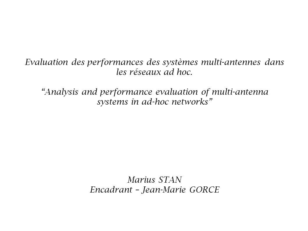 Marius STAN Encadrant – Jean-Marie GORCE