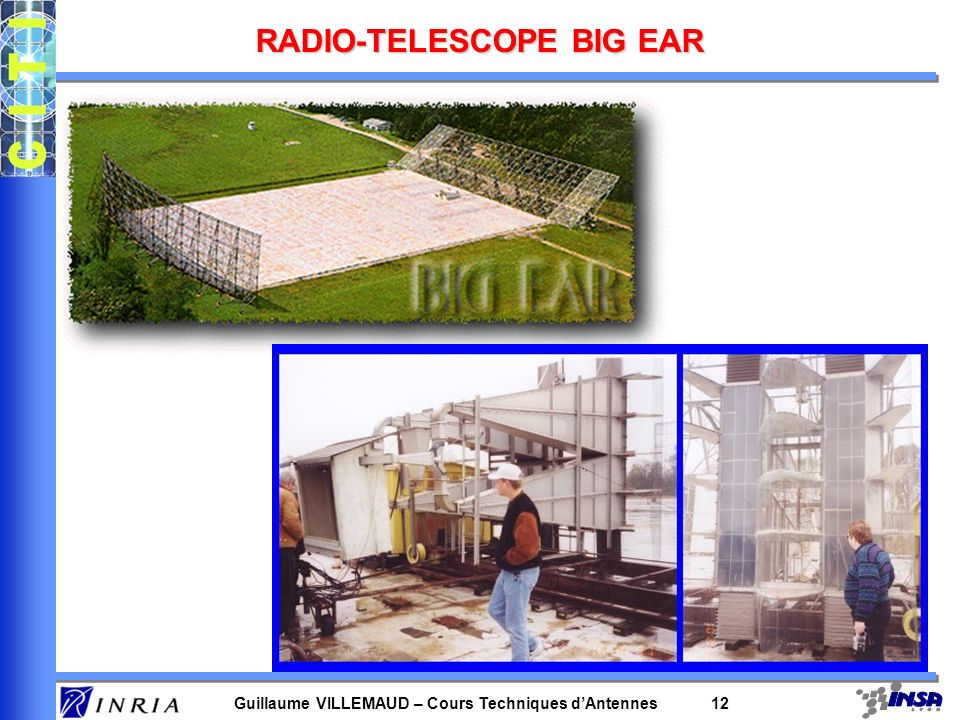 RADIO-TELESCOPE BIG EAR