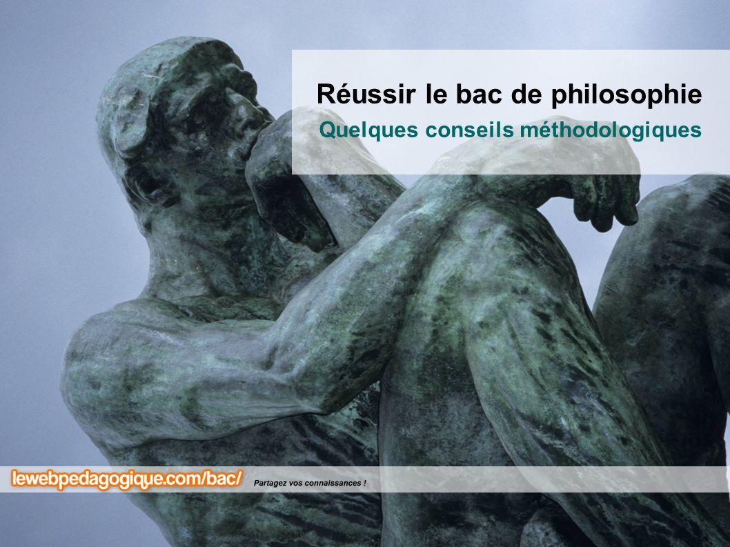 Réussir le bac de philosophie