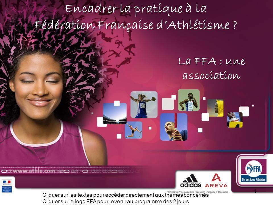 Encadrer la pratique à la Fédération Française d'Athlétisme