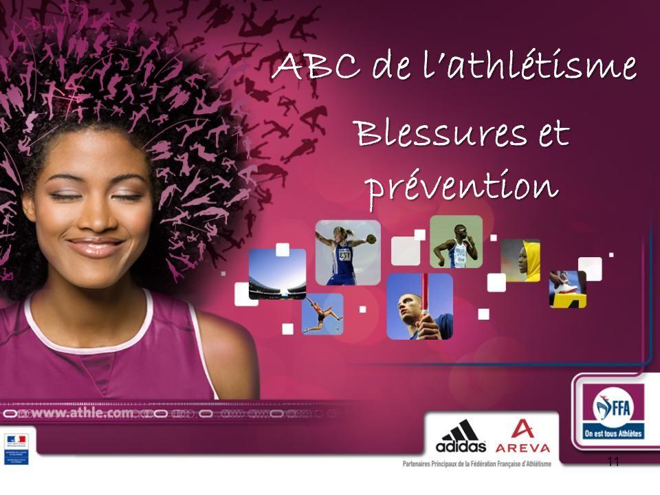 Blessures et prévention
