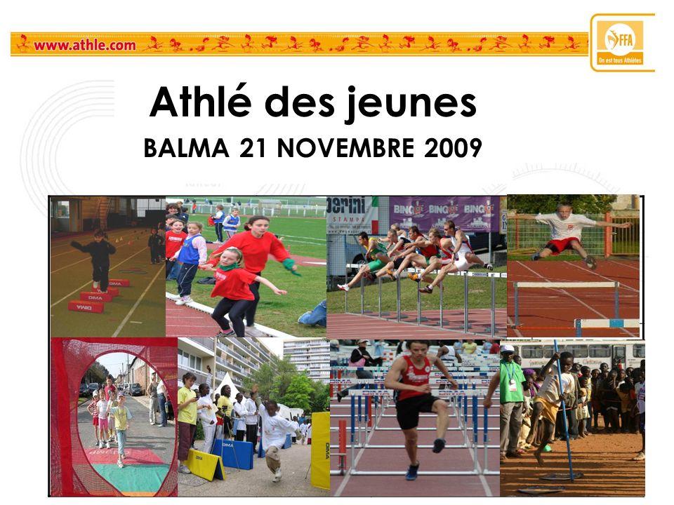 Athlé des jeunes BALMA 21 NOVEMBRE 2009