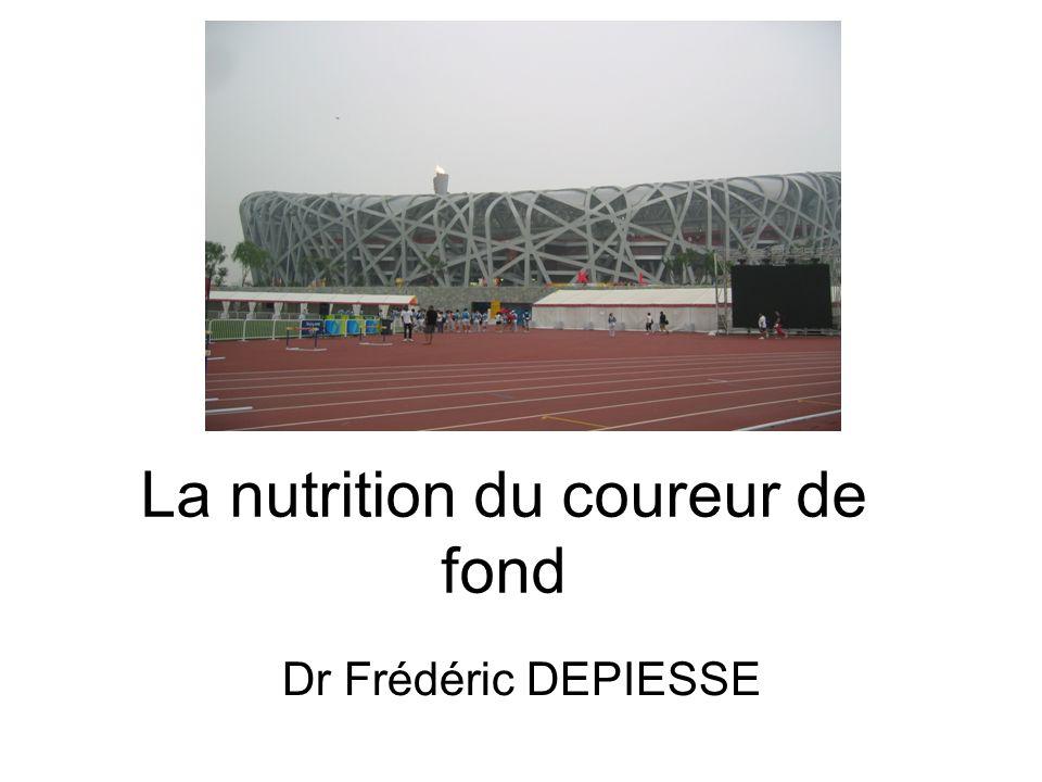 La nutrition du coureur de fond