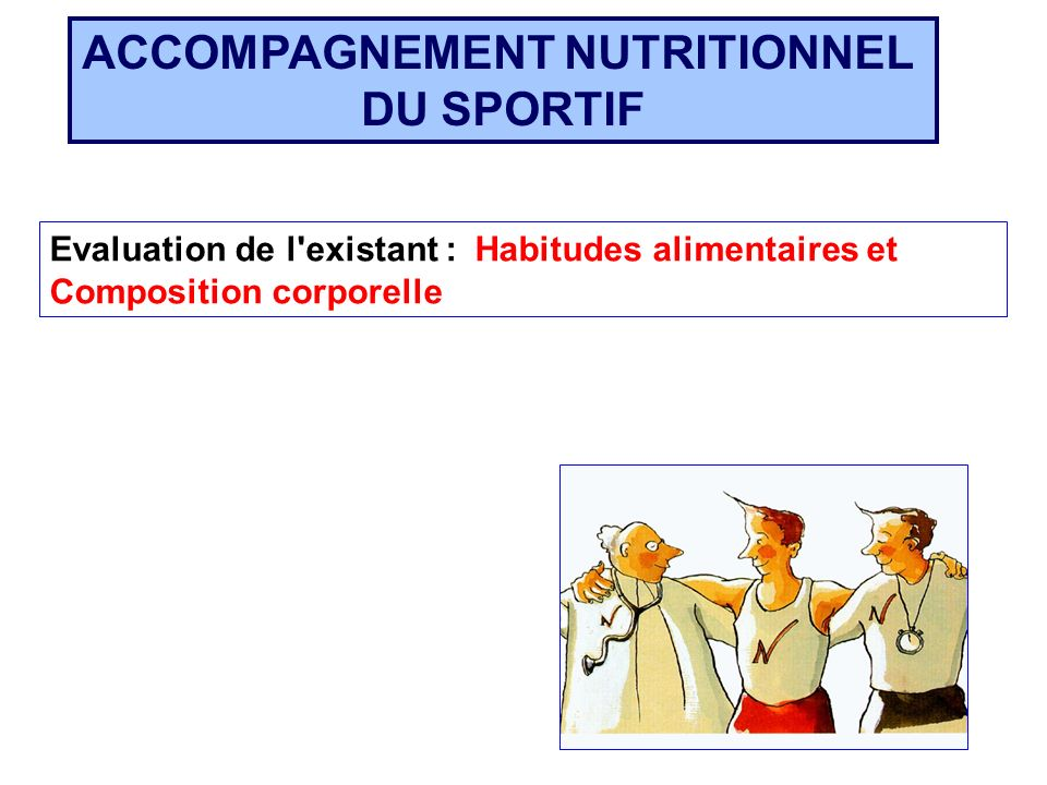 ACCOMPAGNEMENT NUTRITIONNEL
