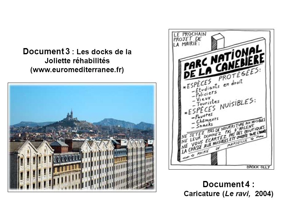 Document 3 : Les docks de la