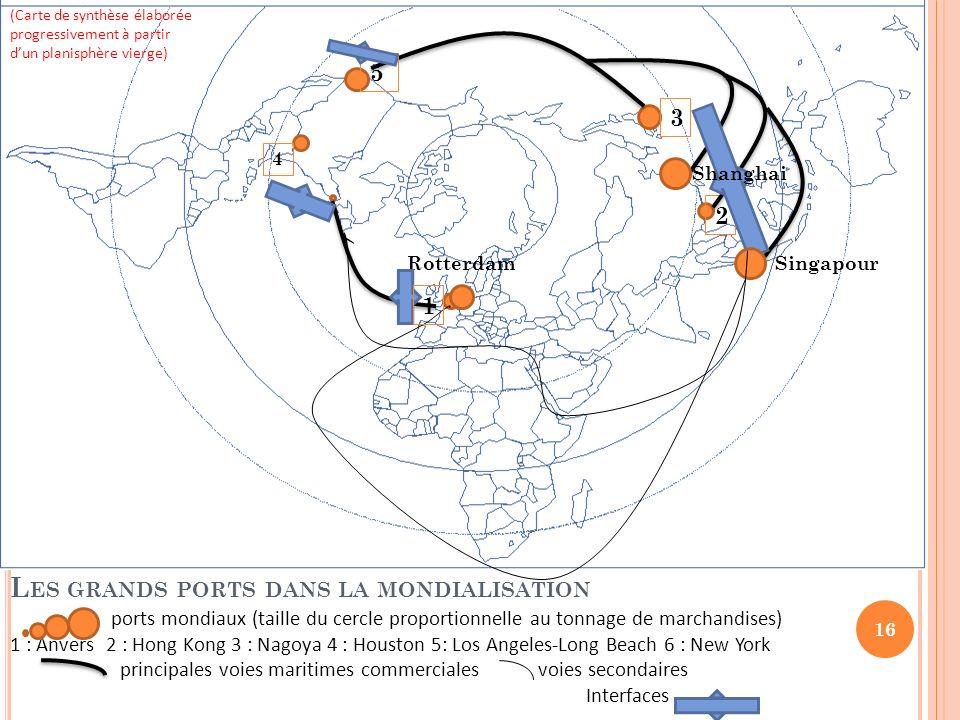 Les grands ports dans la mondialisation