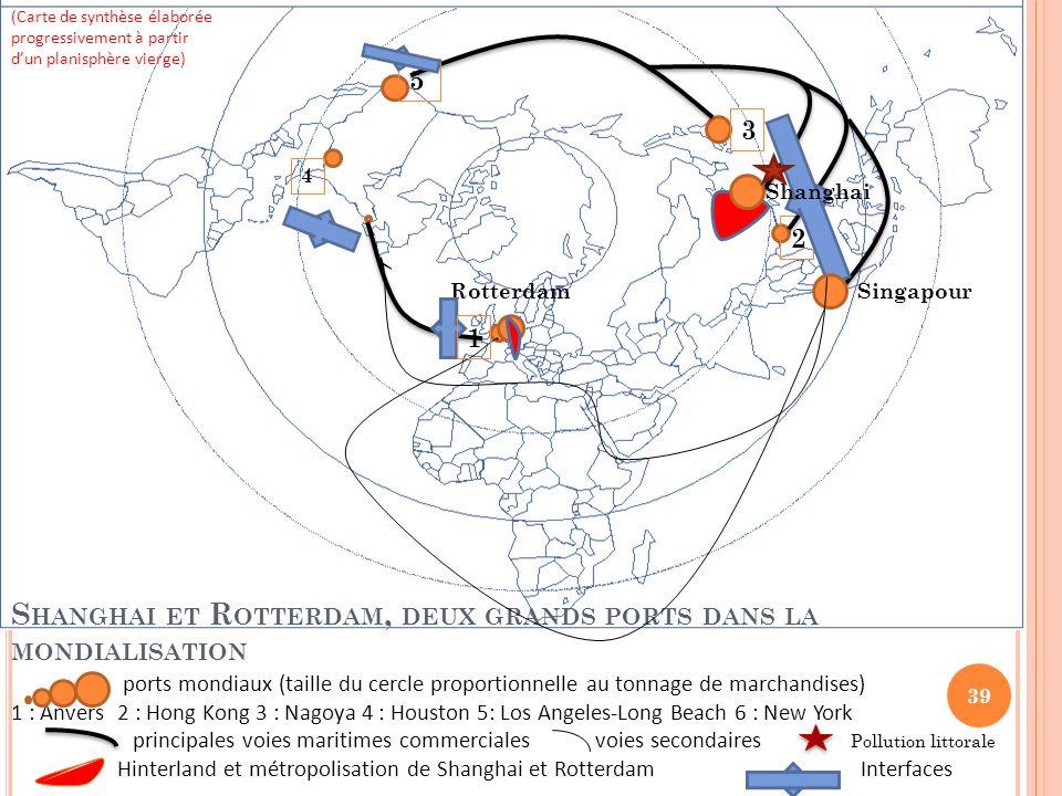 Shanghai et Rotterdam, deux grands ports dans la mondialisation