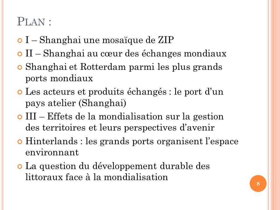 Plan : I – Shanghai une mosaïque de ZIP