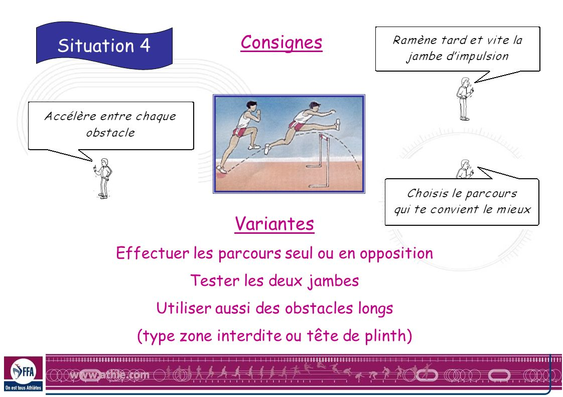 Consignes Situation 4 Variantes
