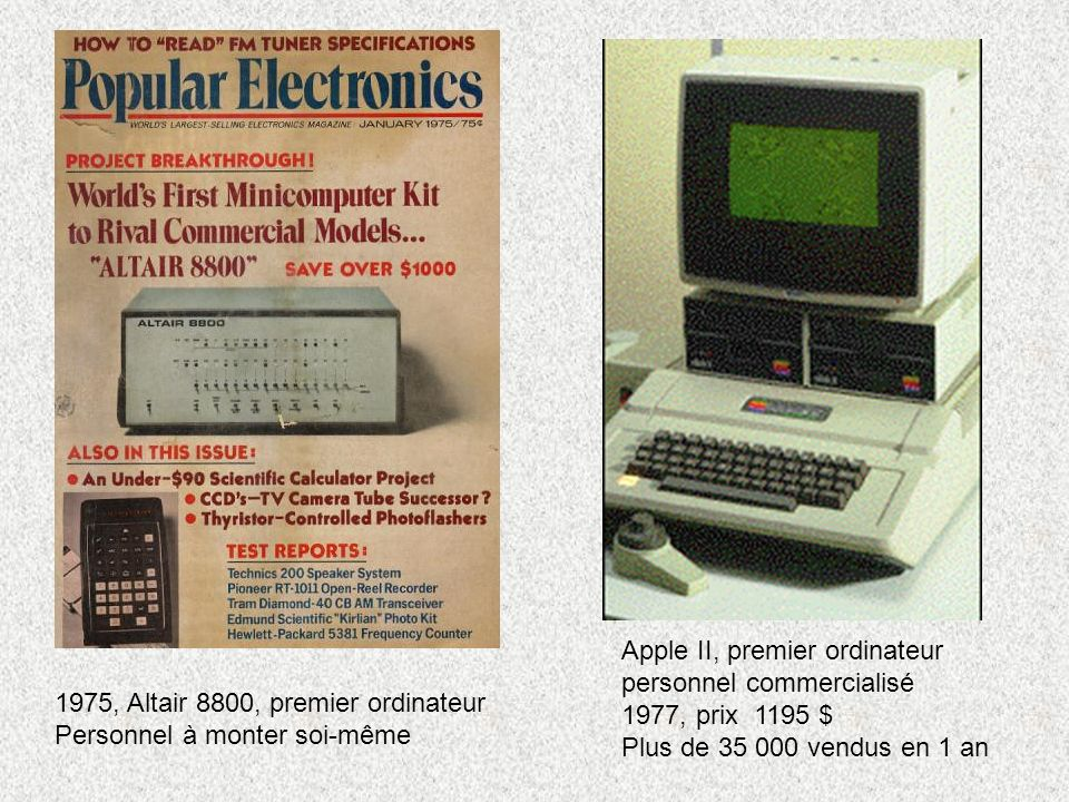 Apple II, premier ordinateur