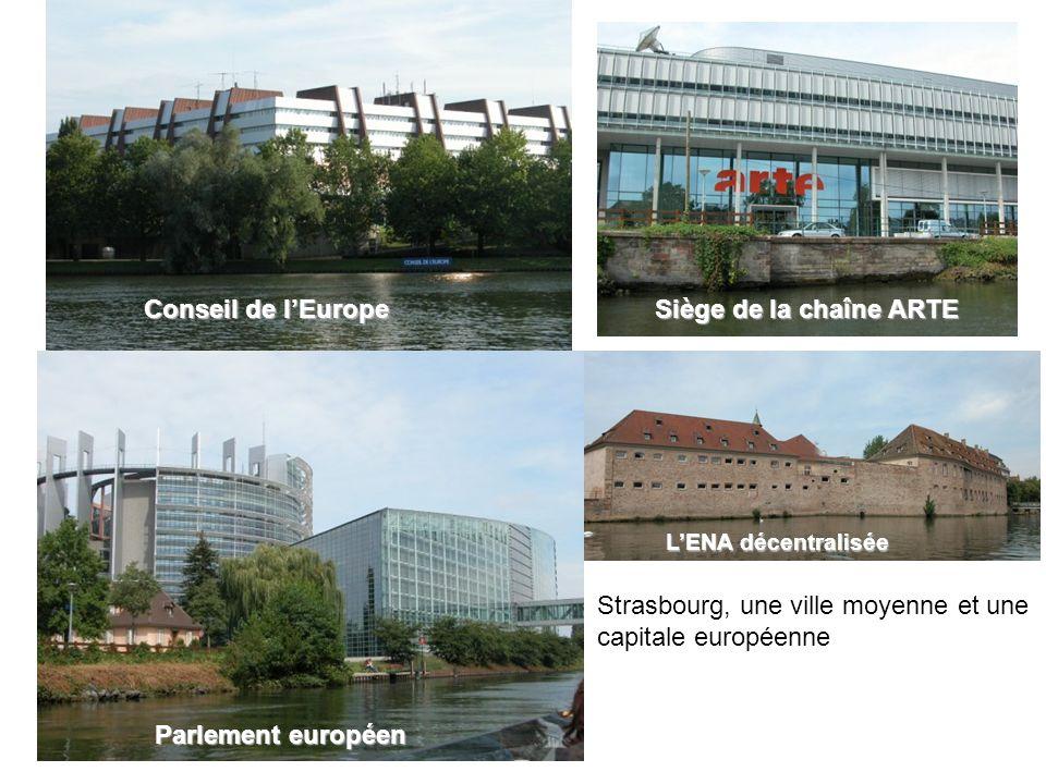 Strasbourg, une ville moyenne et une capitale européenne
