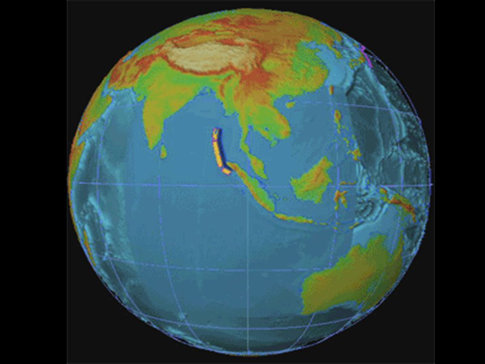 1° partie : Présentation du tsunami asiatique
