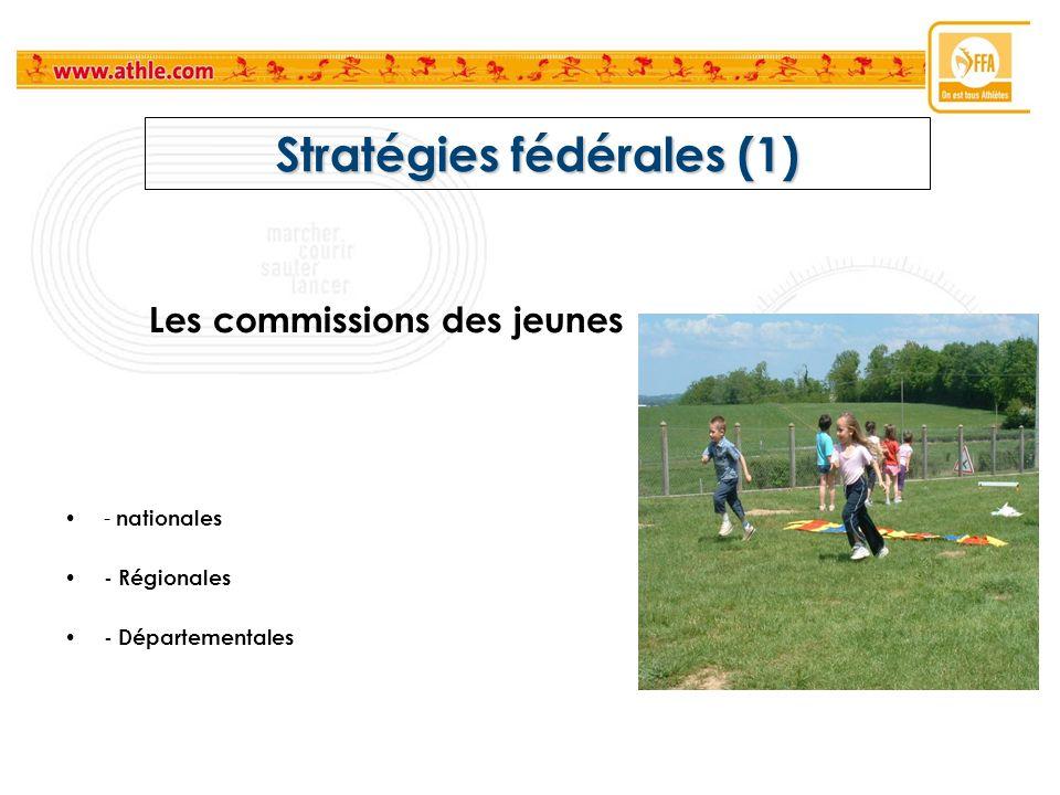 Stratégies fédérales (1)