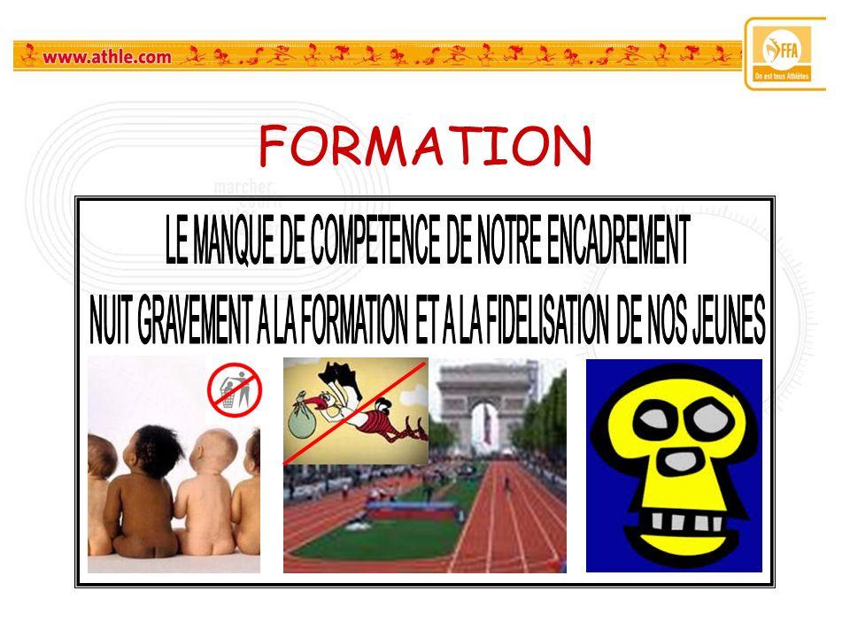 FORMATION LE MANQUE DE COMPETENCE DE NOTRE ENCADREMENT