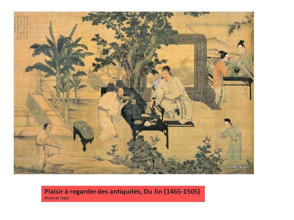 Plaisir à regarder des antiquités, Du Jin (1465-1505)