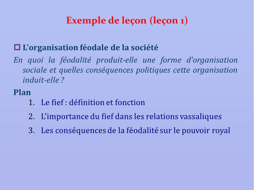 Exemple de leçon (leçon 1)