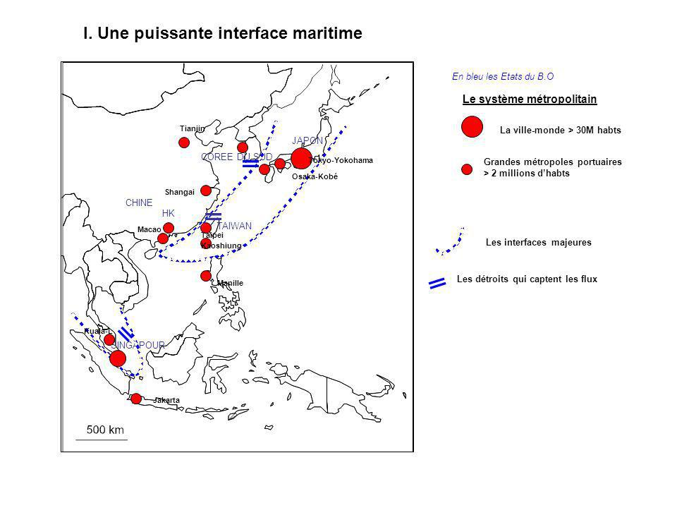 I. Une puissante interface maritime