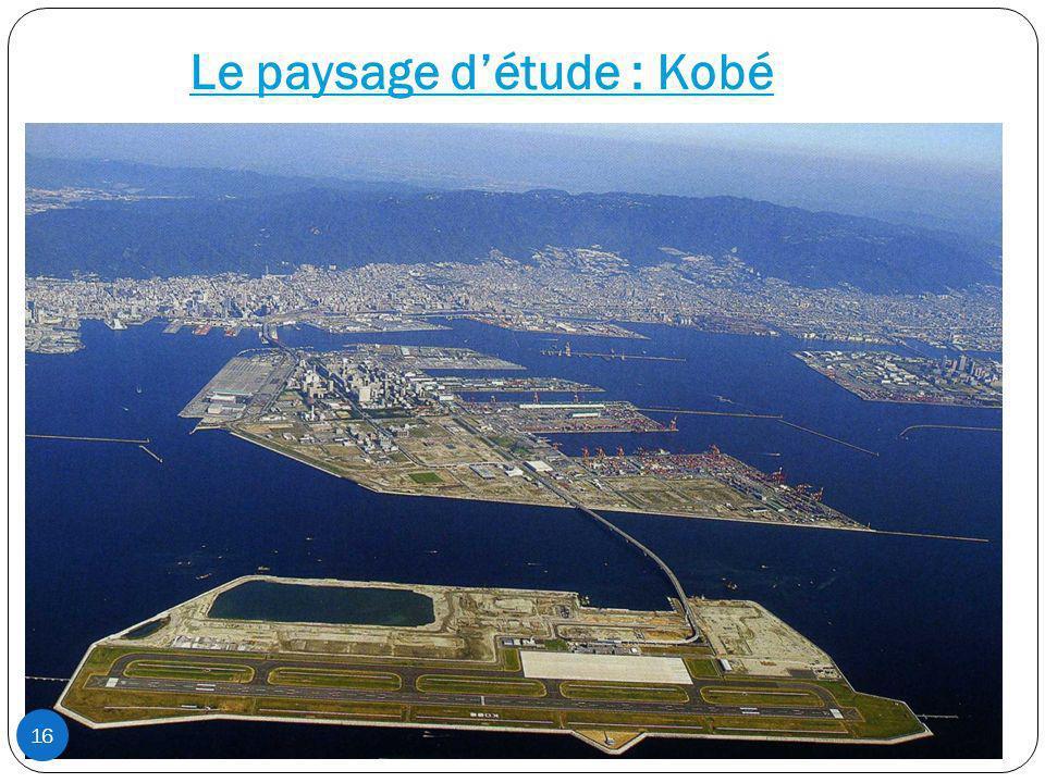 Le paysage d'étude : Kobé
