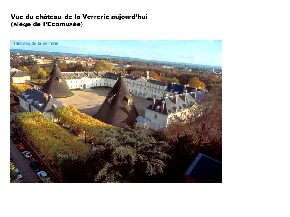 Vue du château de la Verrerie aujourd'hui (siège de l'Ecomusée)