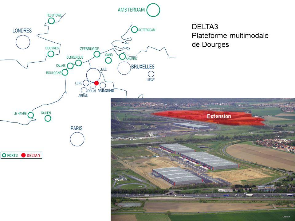 DELTA3 Plateforme multimodale de Dourges