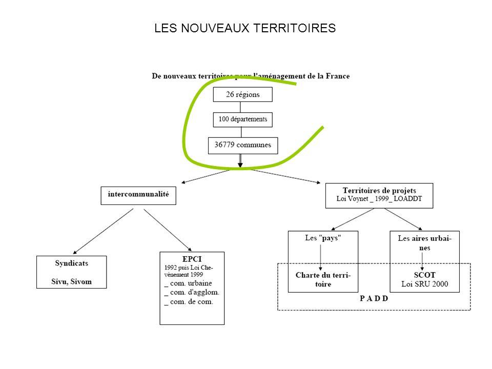 LES NOUVEAUX TERRITOIRES