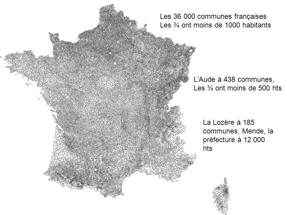 Les 36 000 communes françaises