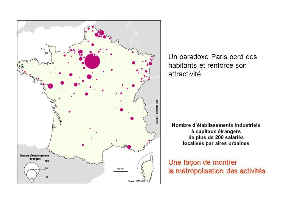 Un paradoxe Paris perd des habitants et renforce son attractivité
