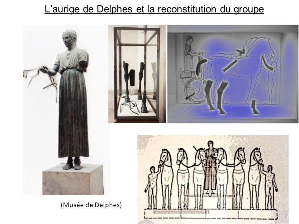 L'aurige de Delphes et la reconstitution du groupe