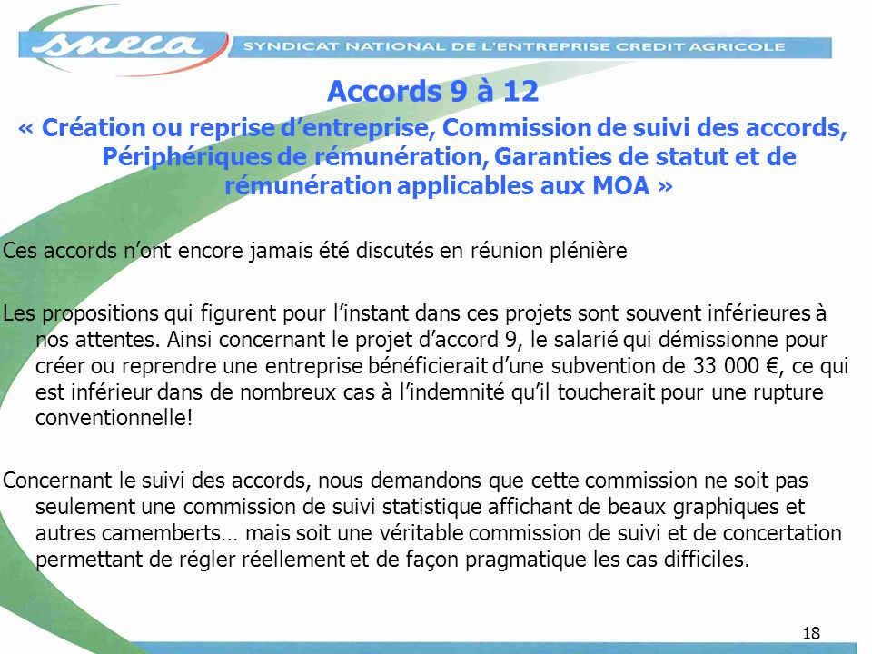 Accords 9 à 12