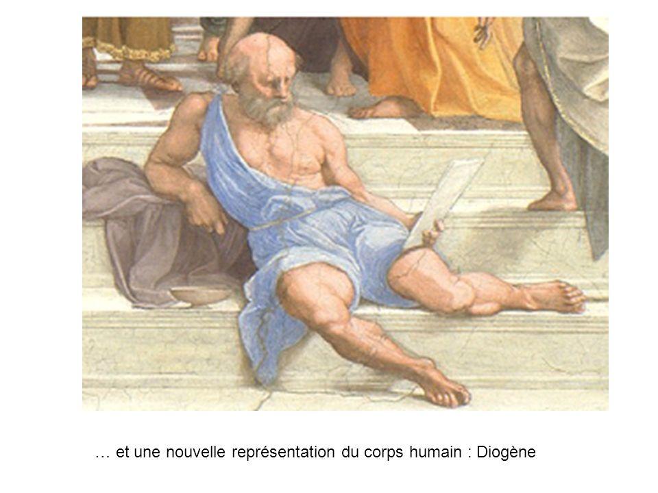 … et une nouvelle représentation du corps humain : Diogène